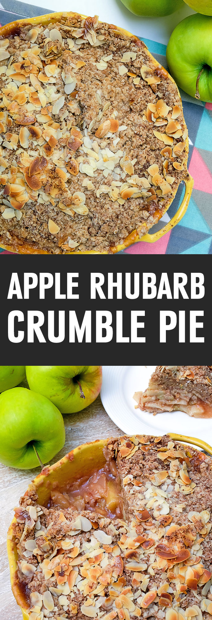 Apple rhubarb pie is the most popular fruit pie to make, and its filling, sweetness, and texture are different from other fruit fillings. This gluten free apple rhubarb crumble pie does not have a traditional pie crust, making it more diet friendly. A scrumptious pie that seems to stand out on it's ow. Shared via http://www.gluteninsight.com