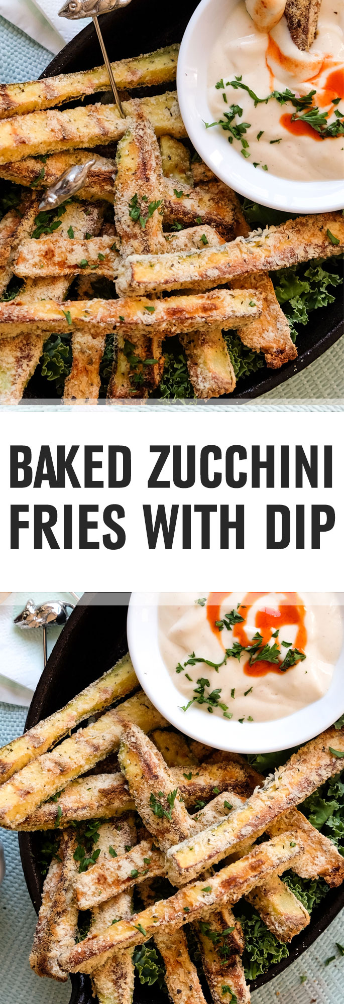 Enticingly delicious finger food without deep-frying. These gluten-free zucchini fries are all about texture, making them crispy but not too heavy with delicately flavored coating. The creamy dip goes especially well with the zucchini fries. Shared via http://www.gluteninsight.com
