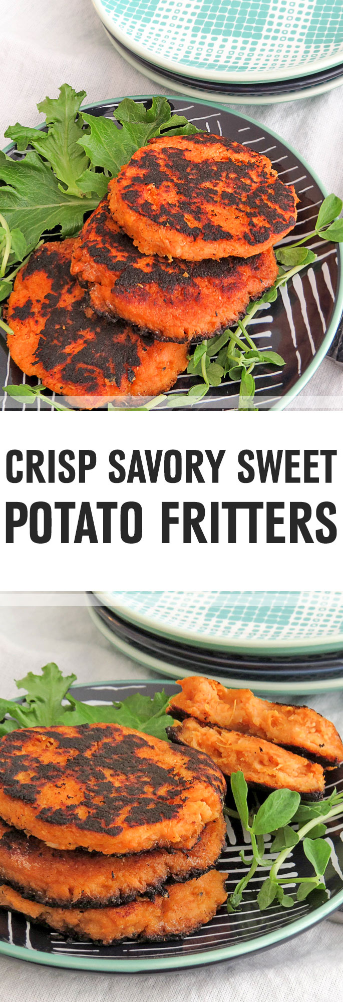 Sweet potatoes are loaded with antioxidants and anti-inflammatory compounds, making these fritters a great way to get some nutrition onto your dinner plate. Shared via http://www.gluteninsight.com