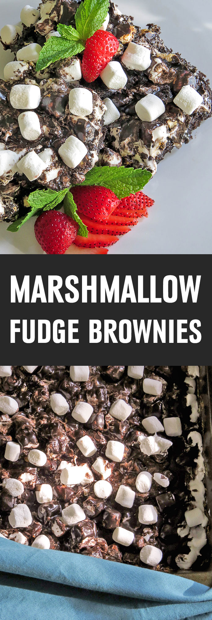 A rich fudgy brownie is topped with a gooey layer of melted marshmallows then drenched in sweet chocolate frosting for the chocolate sensation of your dreams! Shared via http://www.gluteninsight.com