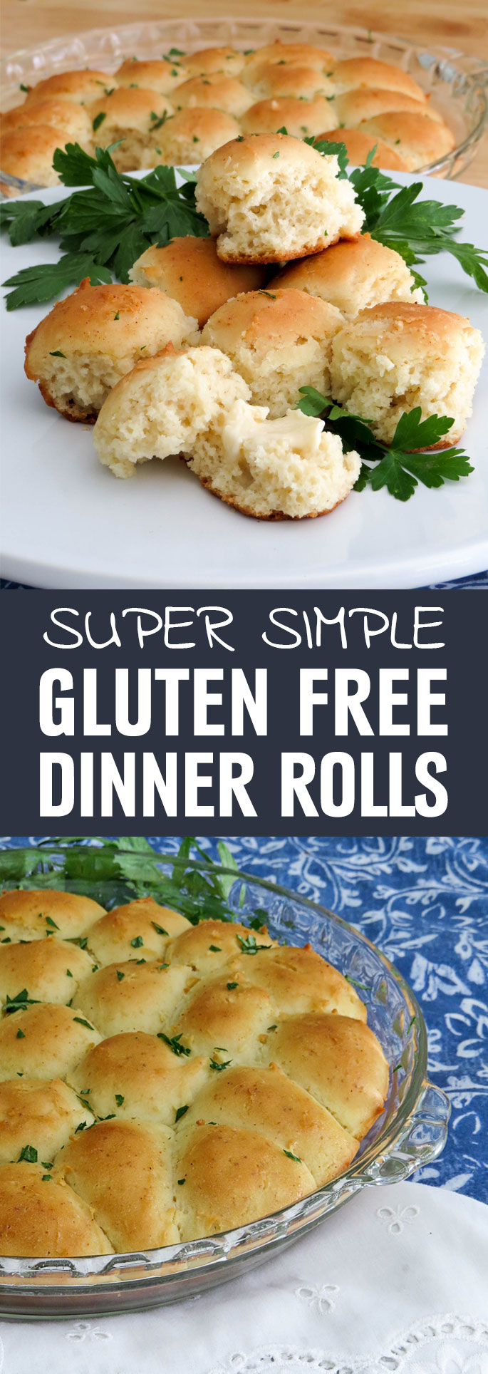 These dinner rolls are light, fluffy and will make you forget they are gluten-free. They will also make you forget about what a challenge making homemade rolls for an average weeknight meal used to be. Shared via http://www.gluteninsight.com