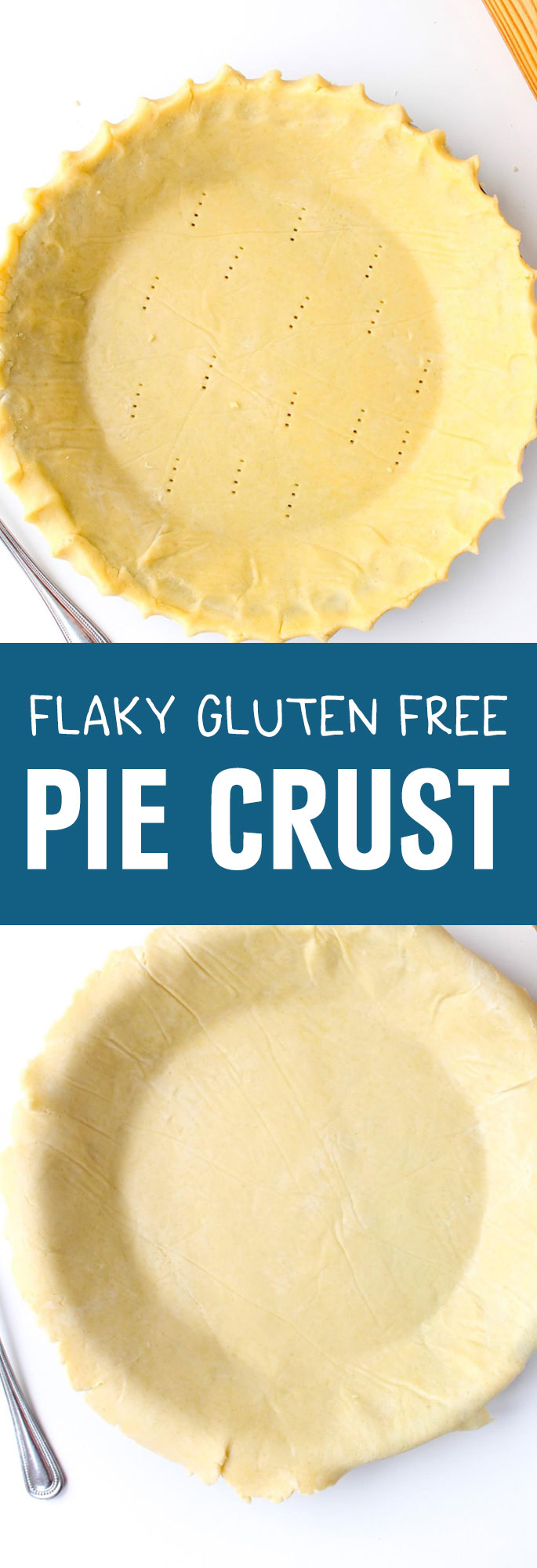 Make a perfect and delicious pie crust for both sweet and savory recipes. Shared via http://www.gluteninsight.com