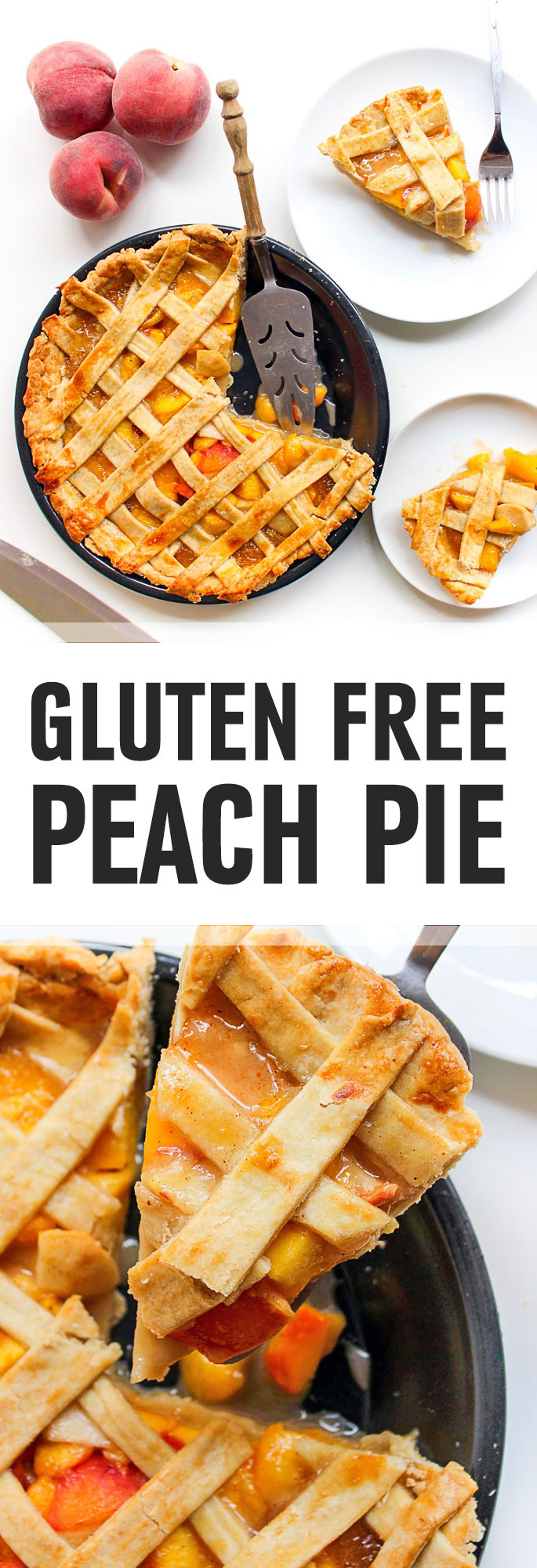 A delicious and quintessential summertime dessert enjoyed by everyone, an amazing gluten free peach pie treat. Shared via http://www.gluteninsight.com