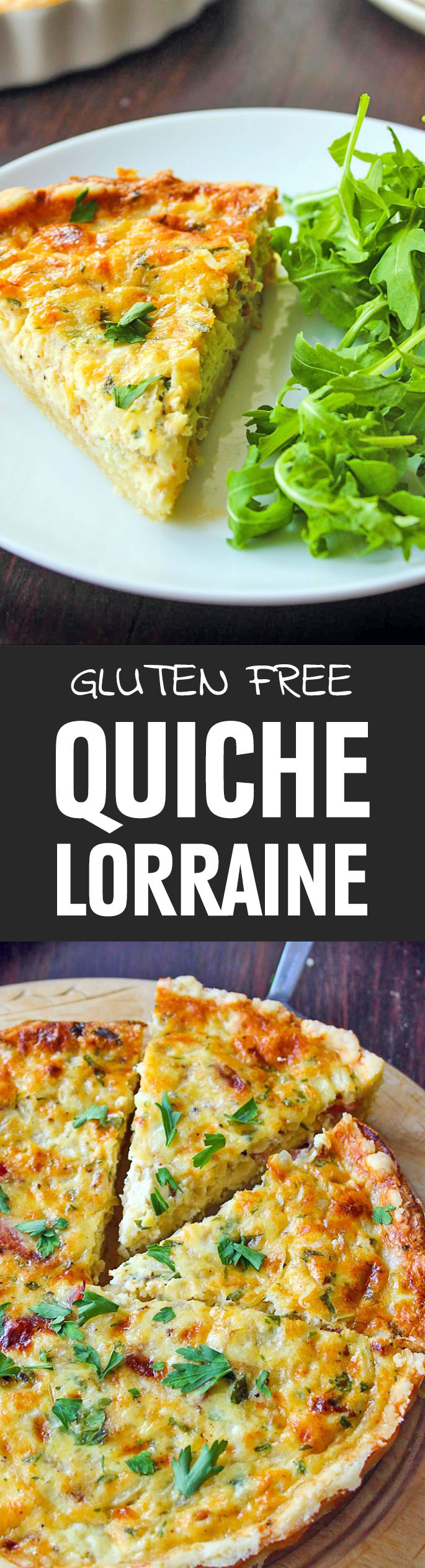 Quiche is one of those foods that we always forget how much we enjoy until eating it. All it takes is one bite of that rich, custardy filling sitting on top of a flaky piecrust and we're sold. Give it a try. Shared via http://www.gluteninsight.com