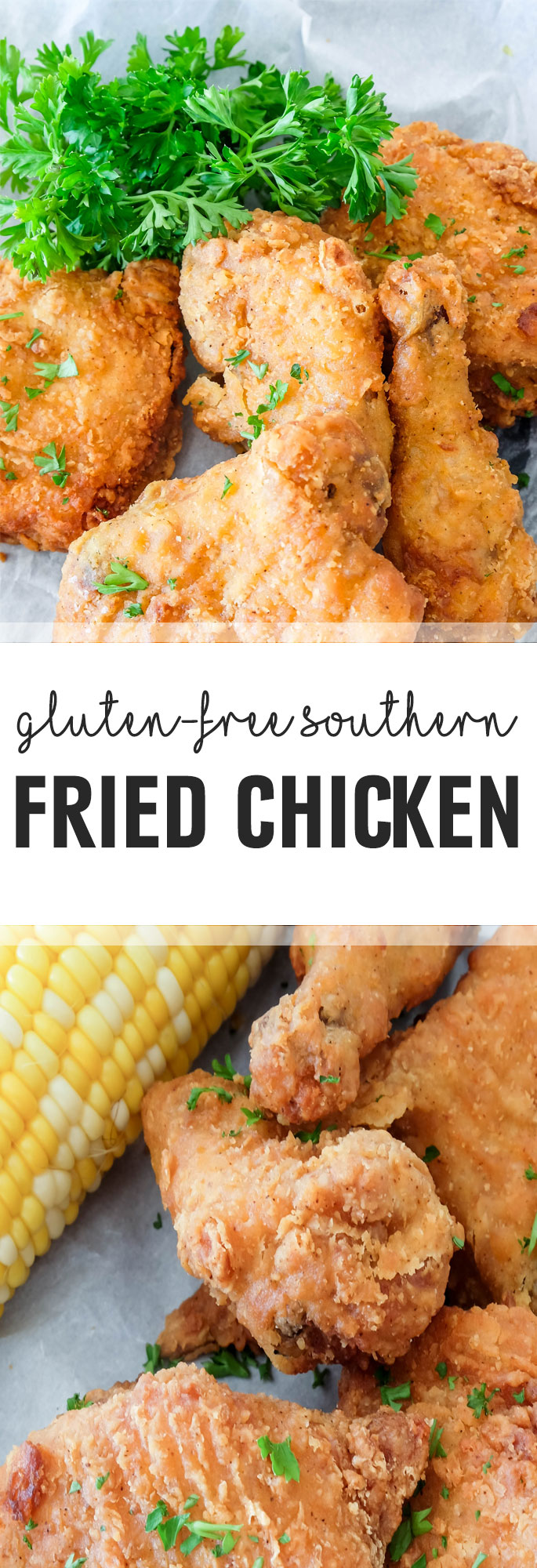When it comes to fried chicken, the coating should be perfectly seasoned and with just the right amount of crispiness such as is this fried chicken recipe. Shared via http://www.gluteninsight.com
