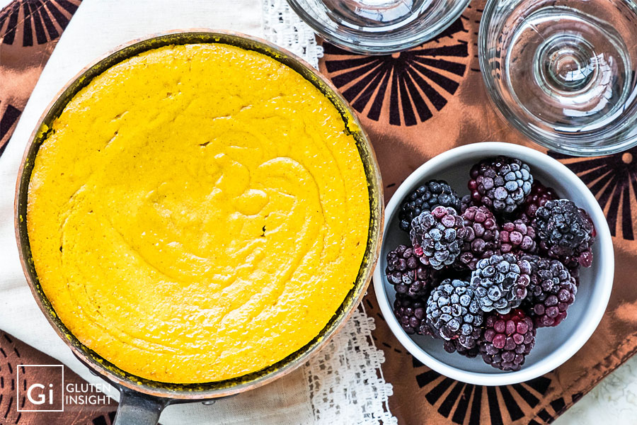 Gluten Free Baked Butternut Squash Pudding