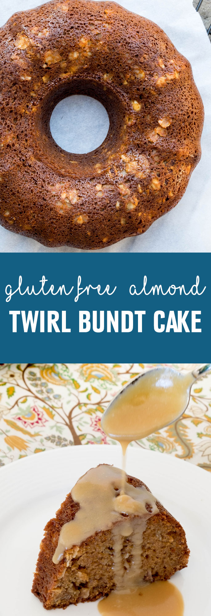 Once you make this gluten free Bundt cake, you will never need another Bundt cake recipe again.  The perfect consistency that is light and airy with the added almond cinnamon lemon swirls makes this recipe a winner. Most Bundt cakes are made with a lot of butter making them heavy and high in calories. Shared via http://www.gluteninsight.com