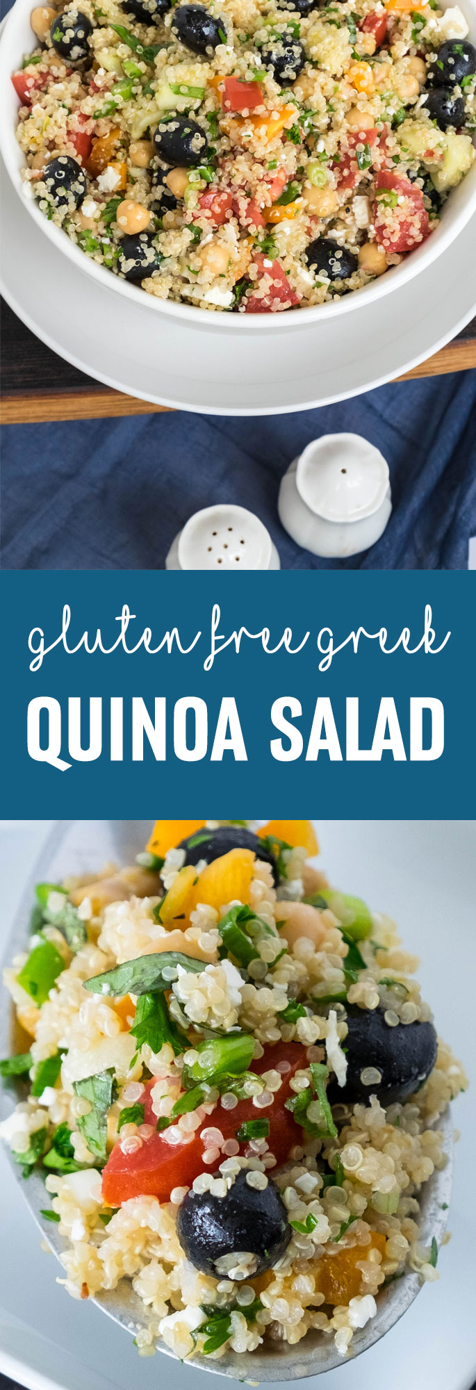 This salad is another wonderful example of how super-healthy quinoa can be tasty and bursting with intense flavors. Shared via http://www.gluteninsight.com